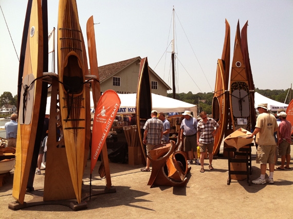 CLC's 2012 WoodenBoat Show Booth