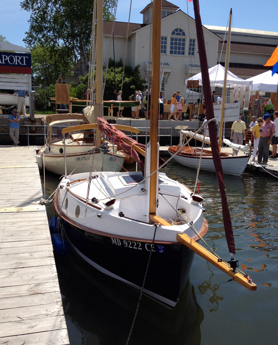 PocketShip at the WoodenBoat Show