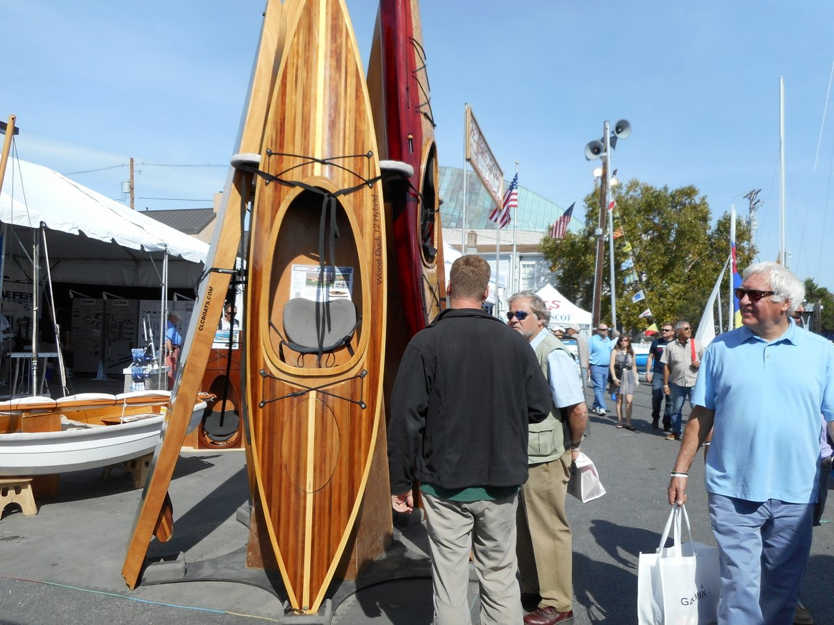 US Sailboat Show CLC Booth