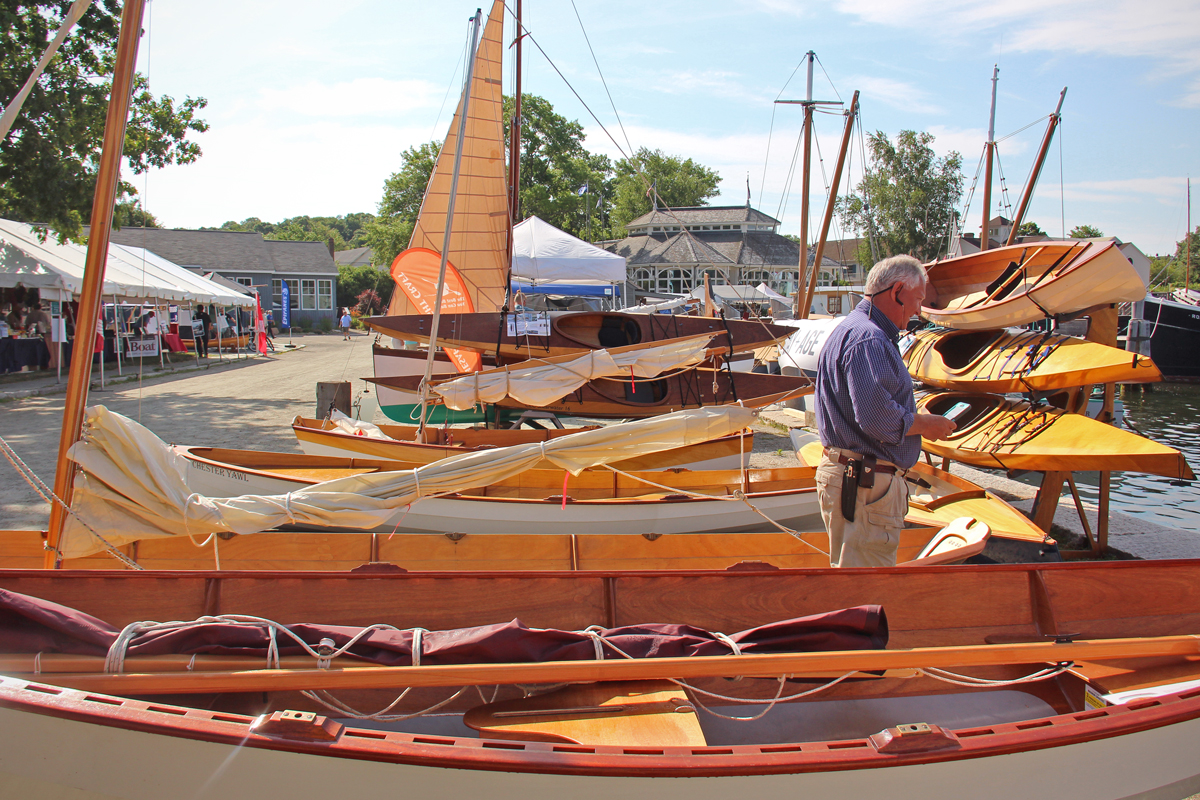 WoodenBoat Show 2016 CLC Boat Display