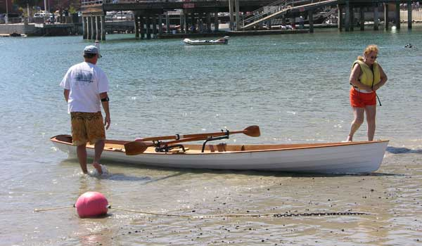 chesapeake light craft, wooden kayak, dana point, clc demo, wooden boat