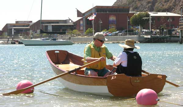 chesapeake light craft, wooden kayak, dana point, clc demo, wooden boat, passagemaker dinghy