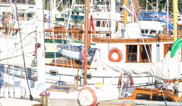 chesapeake light craft, port townsend, wooden boat festival, wooden kayak, wooden boat,