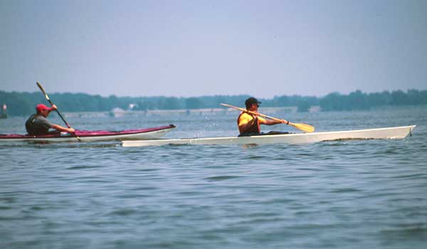 rockhall, clc demo, chesapeake light craft, wooden kayak, wooden boat,