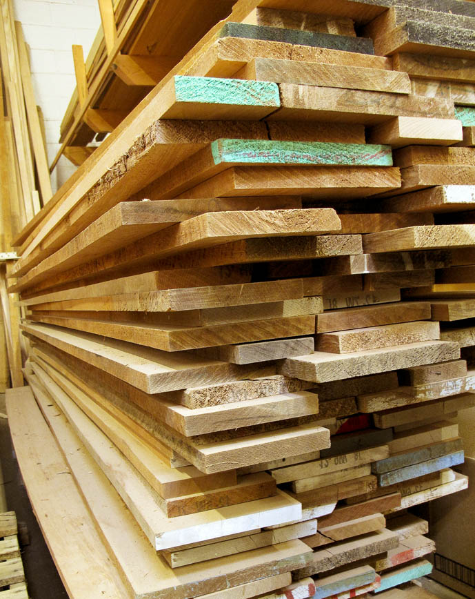 High Quality Marine Lumber at Chesapeake Light Craft