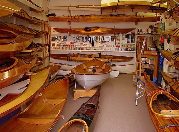 chesapeake light craft showroom