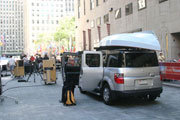 today show, rockefeller center, skerry, best parking spot