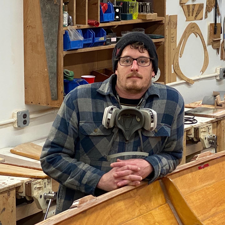 CLC Boatbuilding Instructor George Krewson
