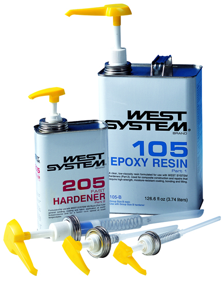 West System Epoxy - Marine-Grade Epoxy for Wood, Fiberglass, Metal