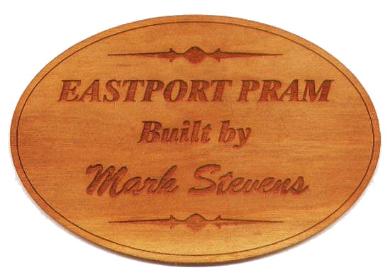 Custom Wood Nameplate - Laser-Cut Inlay/Onlay