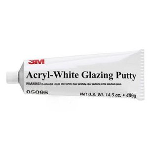 3M Acryl-White Glazing Putty - 14.5 oz