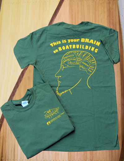 Your Brain on Boat Building Tee