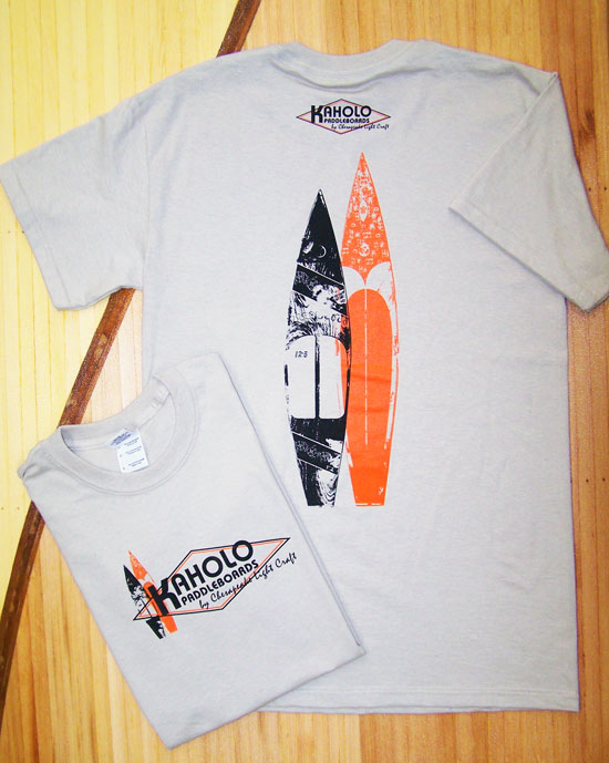Kaholo Stand-Up-Paddleboard Tee