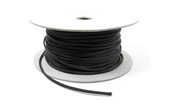 Samson Mini Braid Cord - Black 4mm