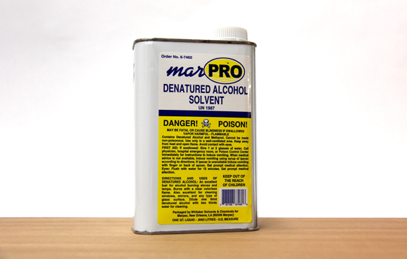Denatured Alcohol (1 quart)