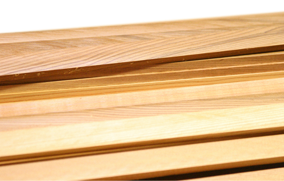 Western Red Cedar Strips without Bead & Cove