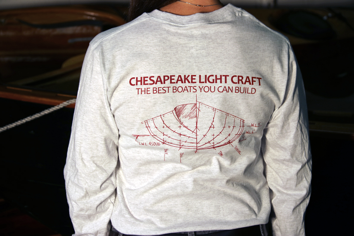 Wherry Hull Drawing Longsleeve Tee