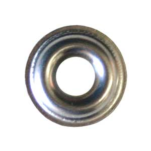 SS Flanged Finish Washers