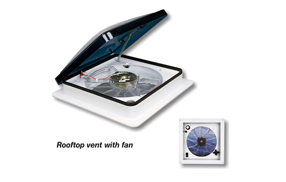 Teardrop Camper Rooftop Vent Kit