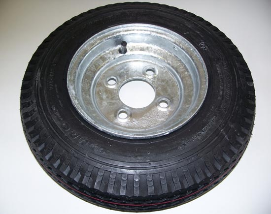 Spare Tire for Trailex SUT Trailers