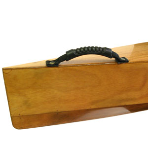 kayak handle, wooden kayak