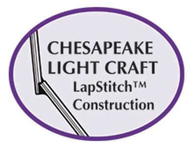 chesapeake light craft, lapstitch logo