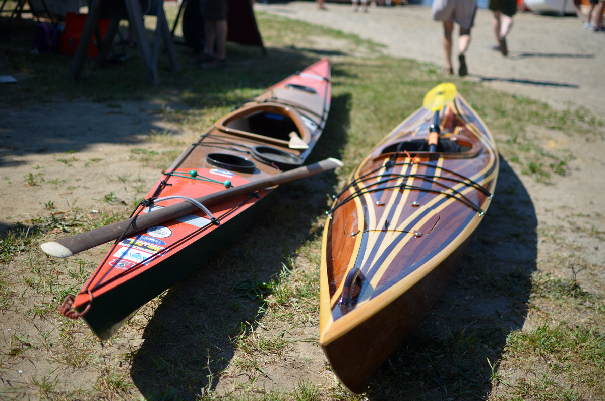 Friends' Kayaks on Display